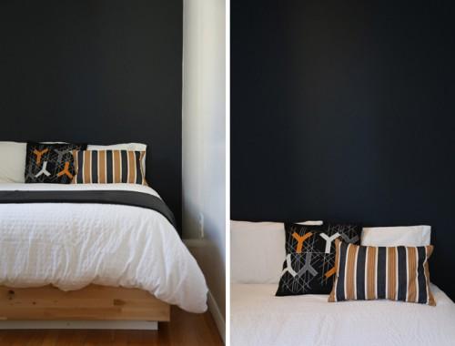 Ashleigh Leech Someform Bedroom Black