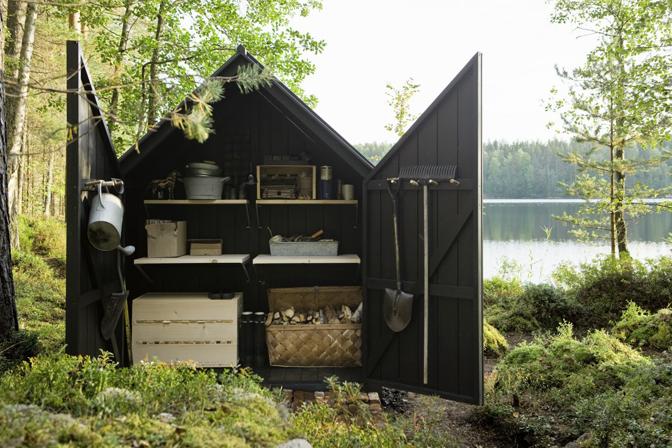Ashleigh Leech Someform Linda Bergroth Glass Cabin Shed